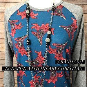 LuLaRoe Randy 3/4 length sleeves